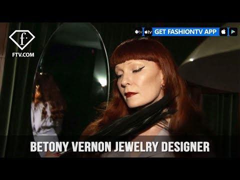 Betony Vernon Jewelry Designer is Daring, Provocative, Boundary Defying | FashionTV | FTV