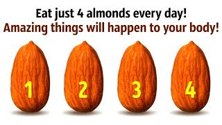 What Happens If You Eat 4 Almonds Every Day