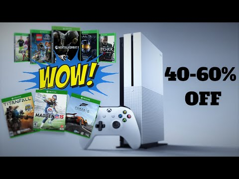 Get Super Cheap Xbox One Games and Consoles