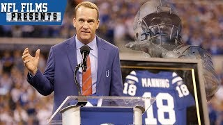 Peyton Manning Returns to Colts For Statue Unveiling & Jersey Retirement   NFL Films Presents
