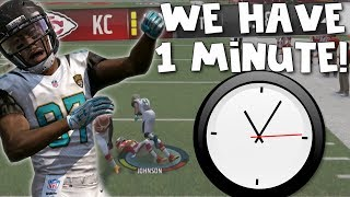THEY CAME BACK, BUT LEFT US WITH 1 MINUTE TO WIN IT ALL... (NOW WAY!) Madden Tiny Football League
