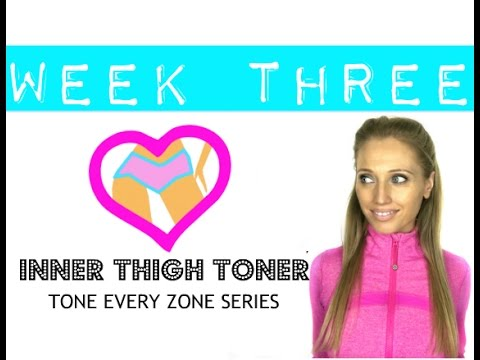 Inner Thigh Toning Workout - for lean toned legs