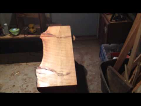 Finishing a Slab of pine with Epoxy