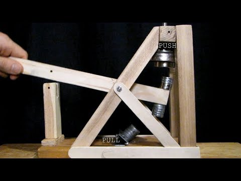 Magnetic Trebuchet