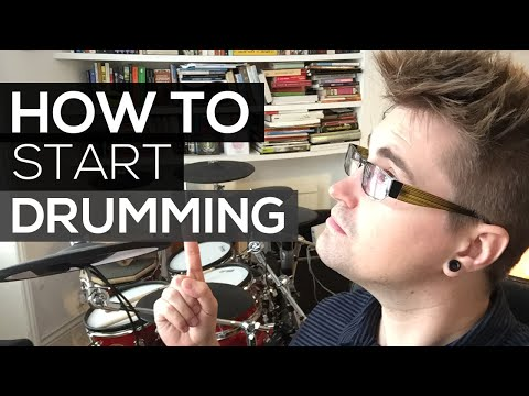 How to Start Playing Drums