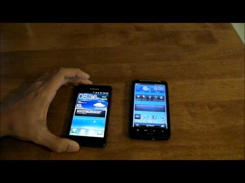 Samsung Galaxy S2 review feat HTC Desire HD