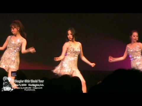 [HD][Fancam] 100604 Wonder Girls World Tour (DC): Wonder Girls - One Night Only