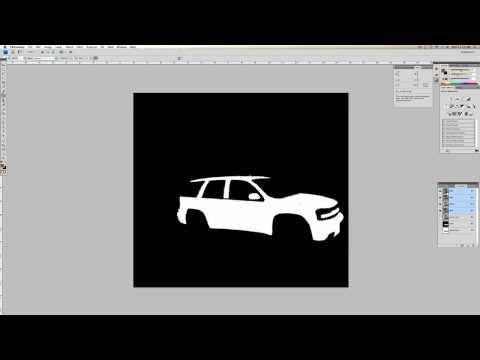 Photoshop: Change the Color of a Black Car