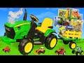 Tracteur Camion Voiture Jouets Pour Enfants Tractor Toys