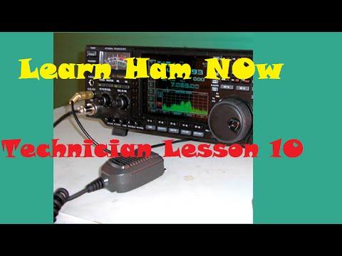 Amateur Radio HAM Technician Lesson 10 Questions T1C11 - T1C14 -Learn Ham Now!