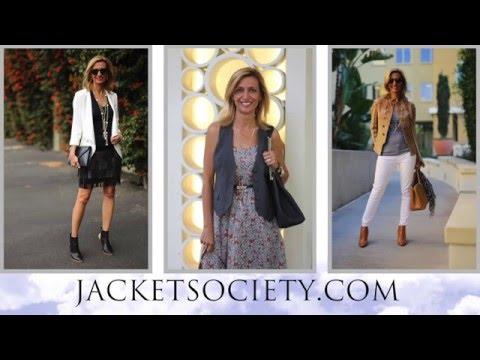 Jacket Society Womens Fashion Designer Blogger Stylist Online Store