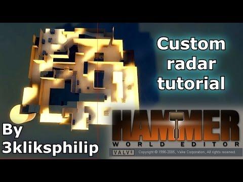 Custom radar tutorial for CSS / CSGO