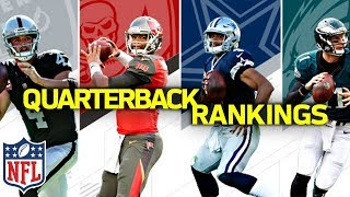 Ranking the NFL QB