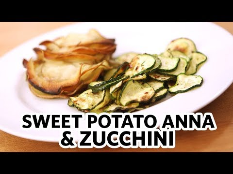 Sweet Potato Anna & Zucchini -- Don't Eat