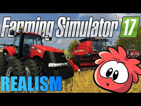 THE MOST HYPER REALISTIC SIMULATOR EVER!! [Farming Sim 17]