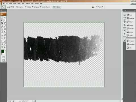 Making a Brush in Photoshop