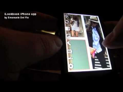 Look book iPhone App create high resolution collages, photo lookbooks and more