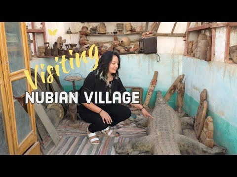 Visiting a Nubian village - Nubian village in Aswan - Nubian village tour