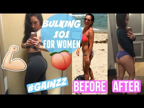 BULKING 101 FOR WOMEN    WHAT IS BULKING, WHERE TO START, AND MORE