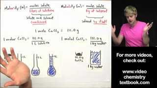 What S The Difference Between Molarity And Molality