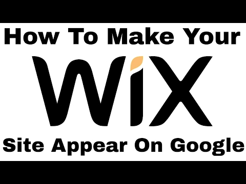 How To Make Your Wix Site Appear On Google