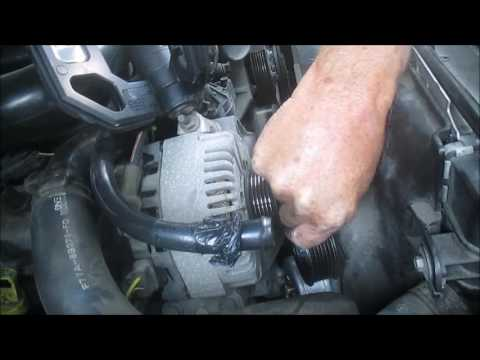 How To Replace A Ford Explorer Serpentine Belt, Tensioner, and Idler Pulley
