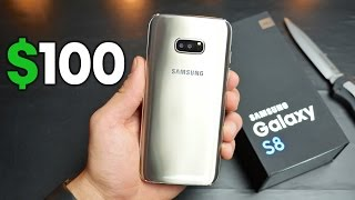 $100 Samsung Galaxy S8 Clone Unboxing!