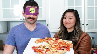 Can This Professional Chef Make A Pizza While Blindfolded?