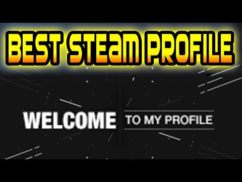 GET THE BEST STEAM PROFILE OF 2017 - ANIMATED WORKSHOP AND SAME ALIAS (WORKING and FREE) ✔