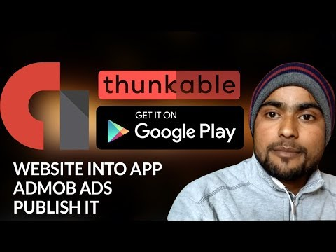 How to Convert Website into Android App - Admob - Publish it on PlayStore