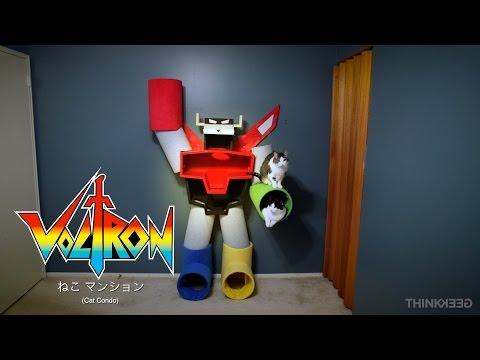 Voltron Cat Condo from ThinkGeek