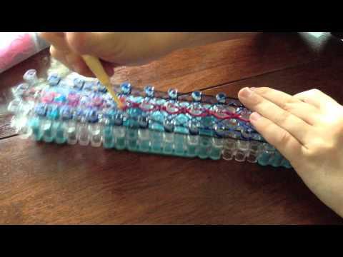 How to make a Triple Loop Braclet on a Rainbow Loom
