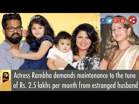 Kollywood Actress Rambha Filed Divorce Petition in Chennai Family Court