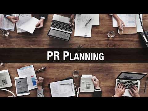 Creating your PR Plan