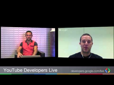 YouTube Developers Live: Subscribe Button