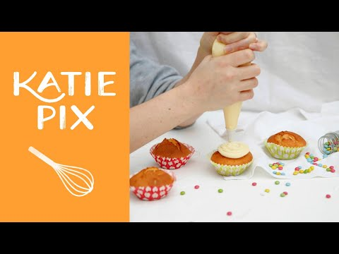 How To Make Buttercream Icing Recipe | Katie Pix
