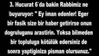 ''Mustafa İslamoğlu Efsanesi'' Video' suna Cevap 1