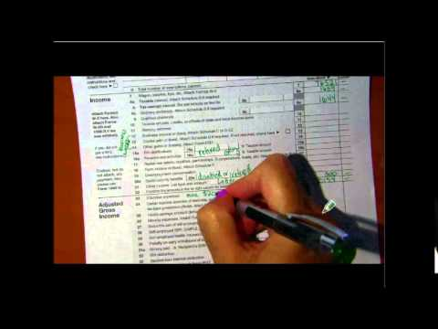 Financial Algebra - 1040, schedule A, Schedule B Tax Forms