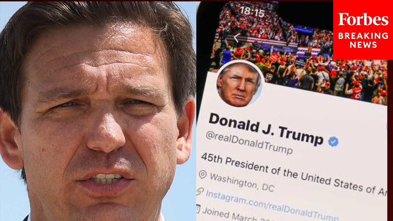 DeSantis Rips Social Media Companies, Signs Bill Blocking Big Tech From Deplatforming Conservatives