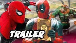 Download Spider-Man Far From Home Trailer - Deadpool Scene Funny Moments Breakdown Video