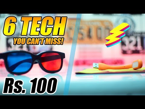 Top Tech Around 100 Rupees! (You Can't Miss) | Cool Tech #3