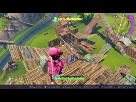 Fortnite with the boys! 50v50 madness DUB's!!