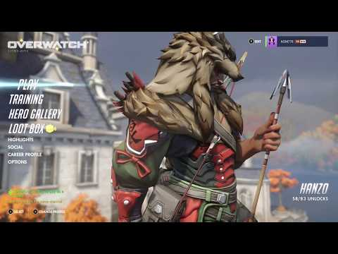 Overwatch OE Opening 6 Loot Boxes