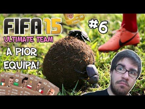 OS PIORES JOGADORES DO FIFA 15! - Ultimate Team #6