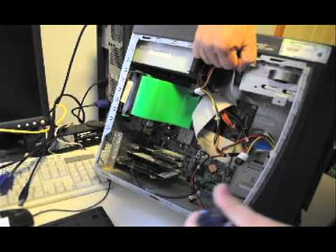 Dell Desktop - How to remove hard drive