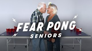 Seniors Play Fear Pong (Larry vs. Misha)