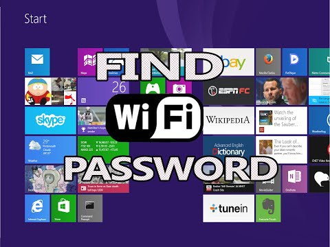 Find your Wifi Password - Windows 8