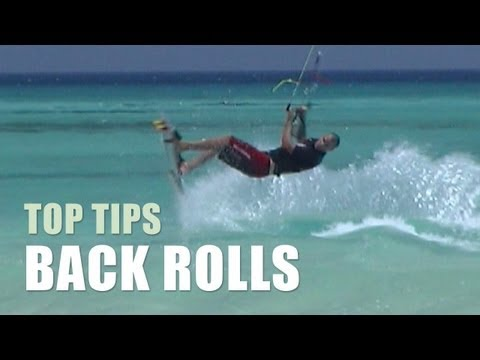 Back Rolls - Kitesurfing Top Tips