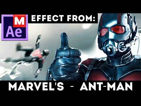 After Effects Tutorial: Ant-Man Shrinking Effect from Marvel and Avengers movies feat. VideoBlocks