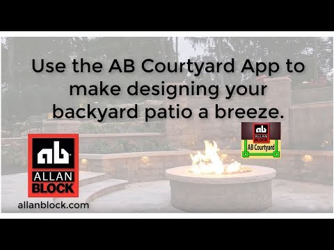 AB Courtyard Estimating and Design App for Patio Walls
